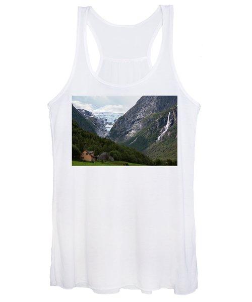 Norway Glacier Jostedalsbreen Women's Tank Top