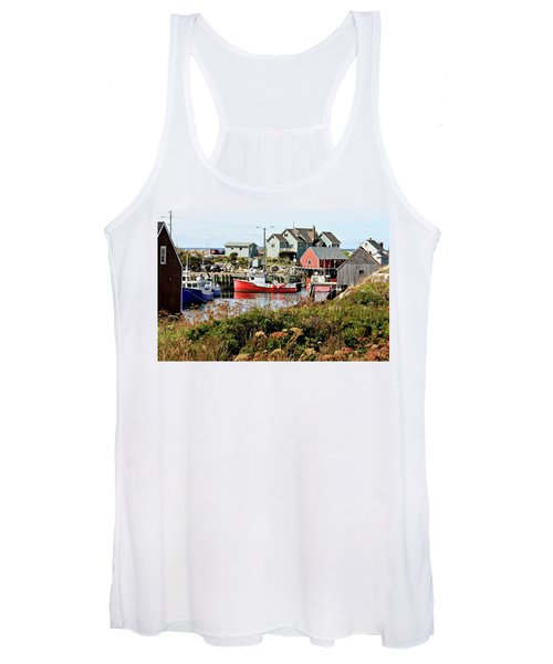 Nova Scotia Fishing Community Women's Tank Top