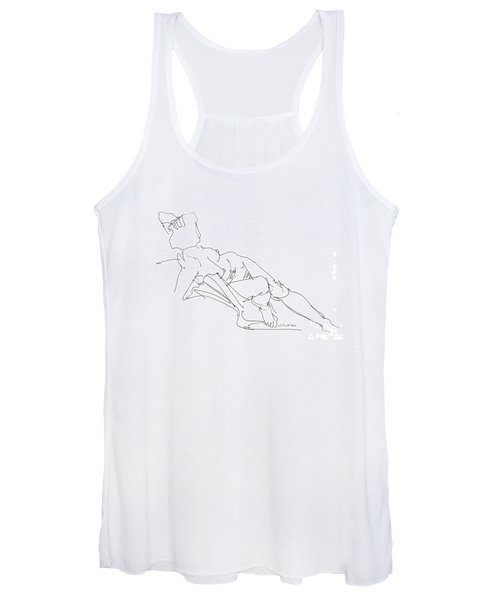 Nude Female Drawings 3 Women's Tank Top