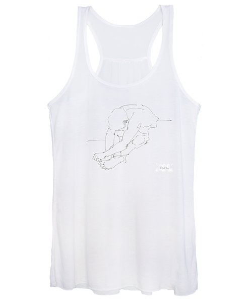 Nude Male Drawings 8 Women's Tank Top
