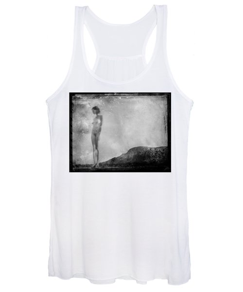 Nude On The Fence, Galisteo Women's Tank Top