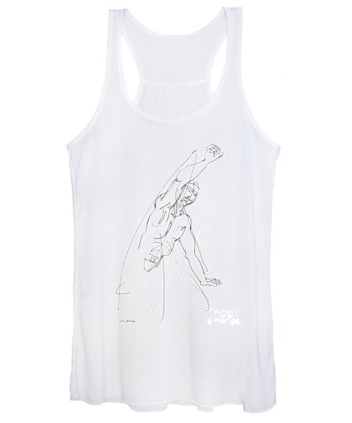 Nude_male_drawing_25 Women's Tank Top