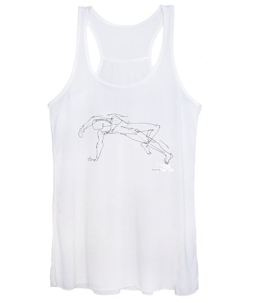 Nude_male_drawings_23 Women's Tank Top