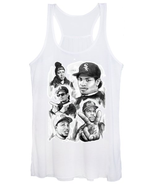 N.w.a. Drawing Art Poster Women's Tank Top