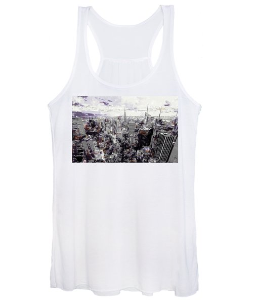 Nyc View From Rockefeller Center Women's Tank Top