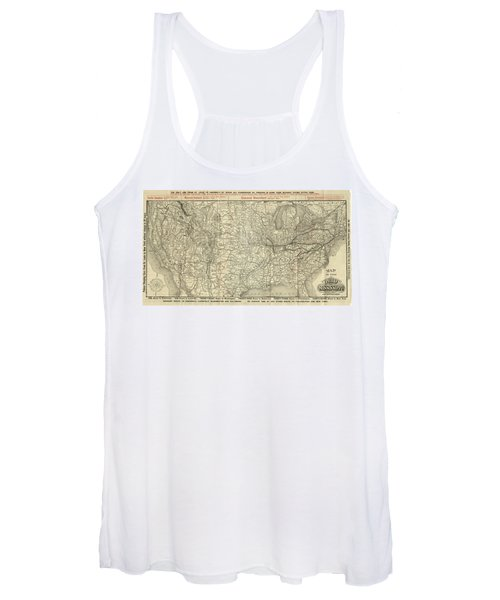 O And M Map Women's Tank Top