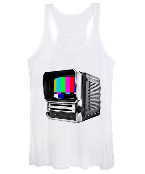Women's Tank Top featuring the photograph Off Air Tee by Edward Fielding