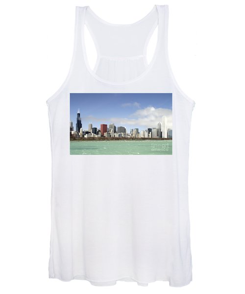 Off The Shore Of Chicago Women's Tank Top