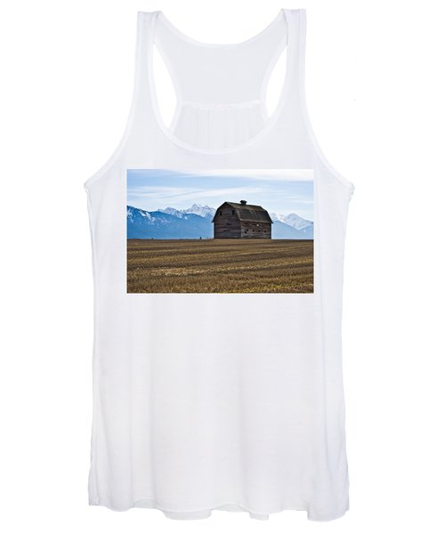 Old Barn, Mission Mountains 2 Women's Tank Top