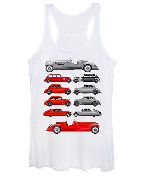 Old Cars Women's Tank Top