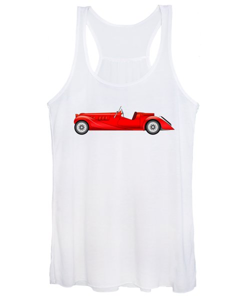 Old Classic Race Car Women's Tank Top
