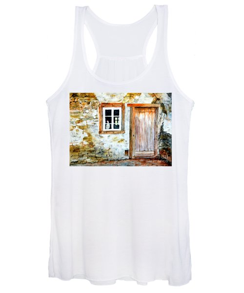 Old Farm House Women's Tank Top