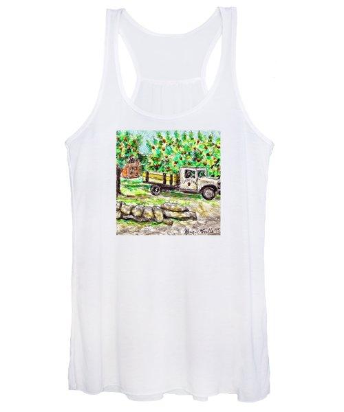 Old Farming Truck Women's Tank Top