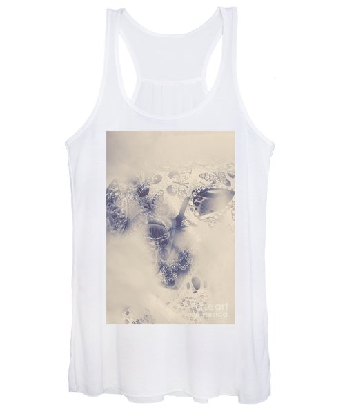 Old-fashioned Venice Mask Women's Tank Top