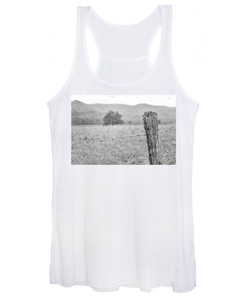Old Fence Post Women's Tank Top