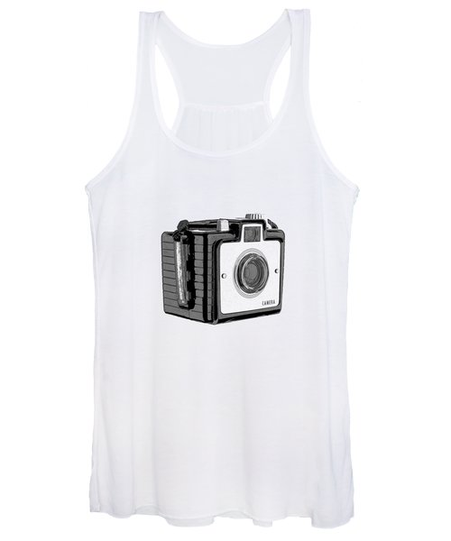 Old Film Camera T-shirt Women's Tank Top
