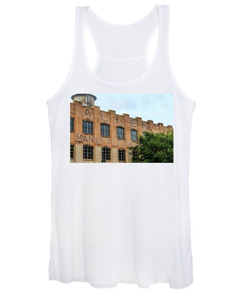 Old Mill Building In Buford Women's Tank Top
