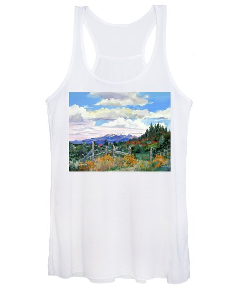 Old North Fence-in Colorado Women's Tank Top