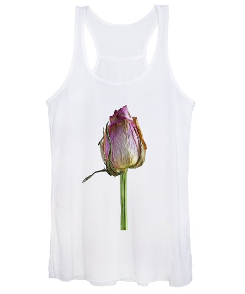 Old Rose On Paper Women's Tank Top