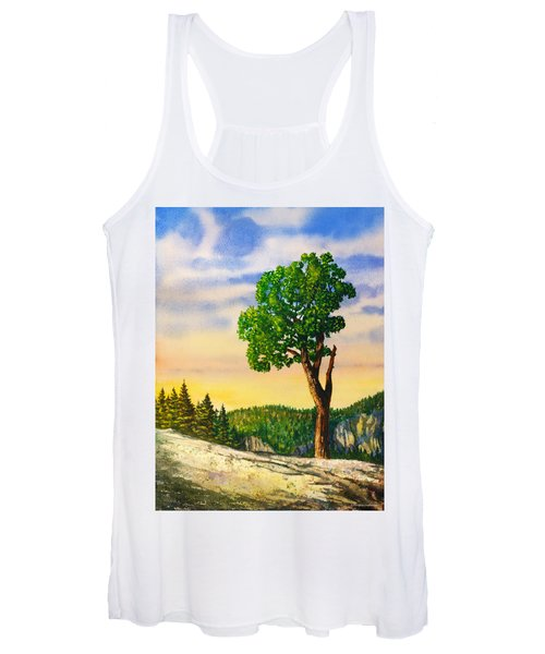 Olmsted Point Tree Women's Tank Top