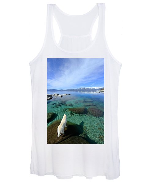 On A Clear Day You Can See Forever Women's Tank Top