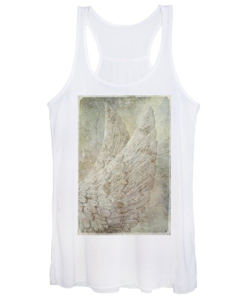 On Angels Wings Women's Tank Top