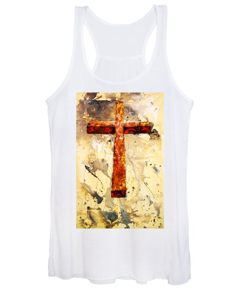 On That Old Rugged Cross Women's Tank Top