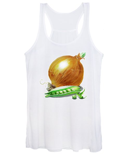 Onion And Peas Women's Tank Top