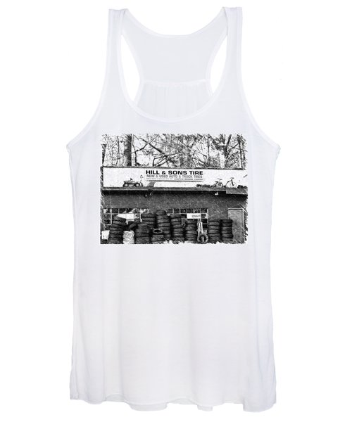 Open For Business Women's Tank Top