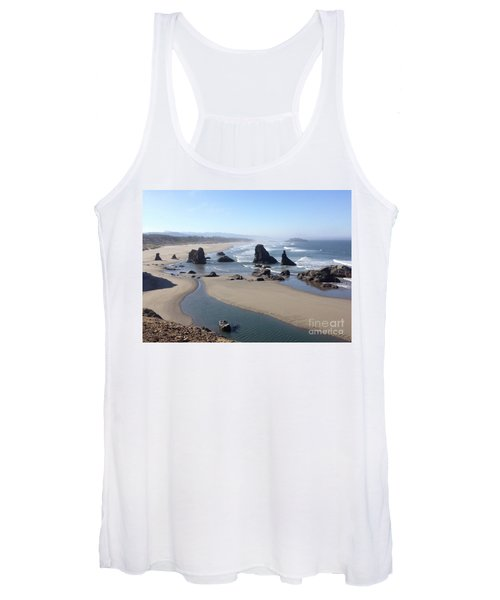 Oregon Coast Sea Stacks Women's Tank Top