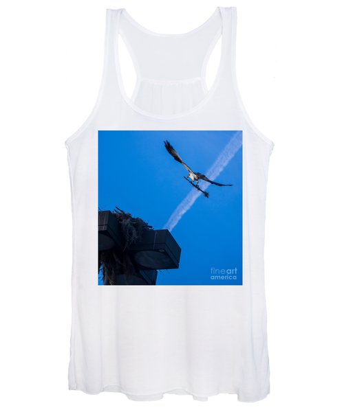 Osprey Carrying Stick To Nest Women's Tank Top