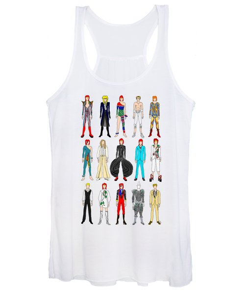 Outfits Of Bowie Women's Tank Top