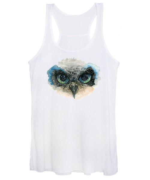 Owl Eyes Women's Tank Top