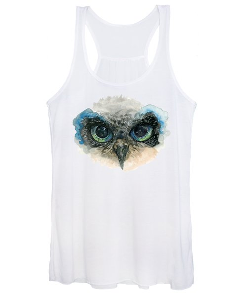 Owl Eyes Women's Tank Top
