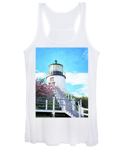 Owl's Head Light In Early June Women's Tank Top