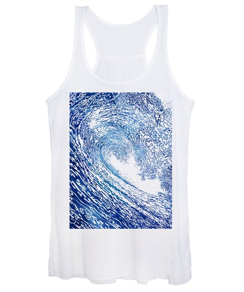Pacific Waves Iv Women's Tank Top