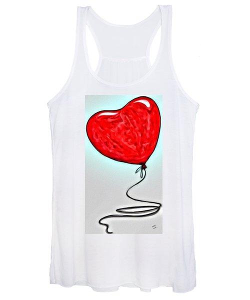 Painted Heart Women's Tank Top