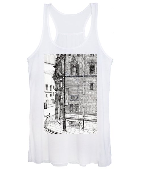 Palace Hotel Oxford Street Manchester Women's Tank Top
