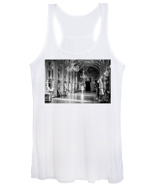 Women's Tank Top featuring the photograph Palazzo Doria Pamphilj, Rome Italy by Perry Rodriguez