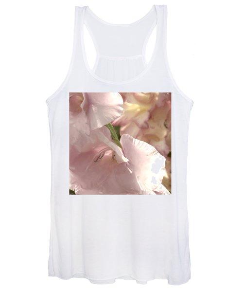 Pale Pink Glads Women's Tank Top