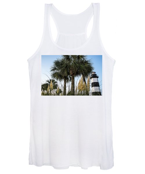 Palms At Lightkeepers Women's Tank Top