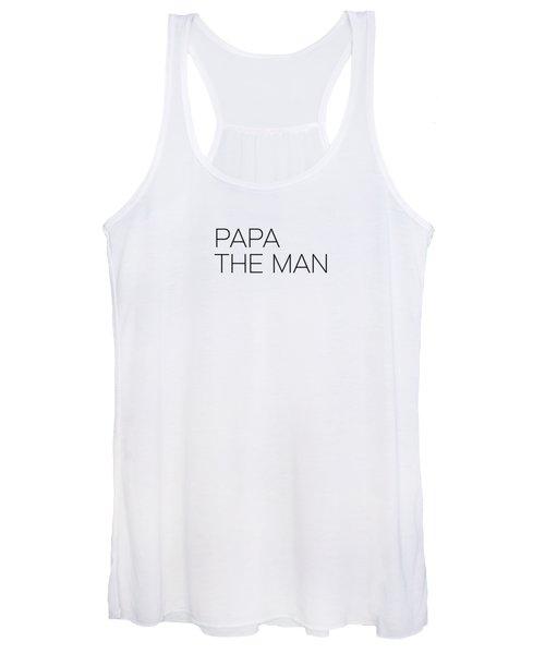Papa The Man Women's Tank Top