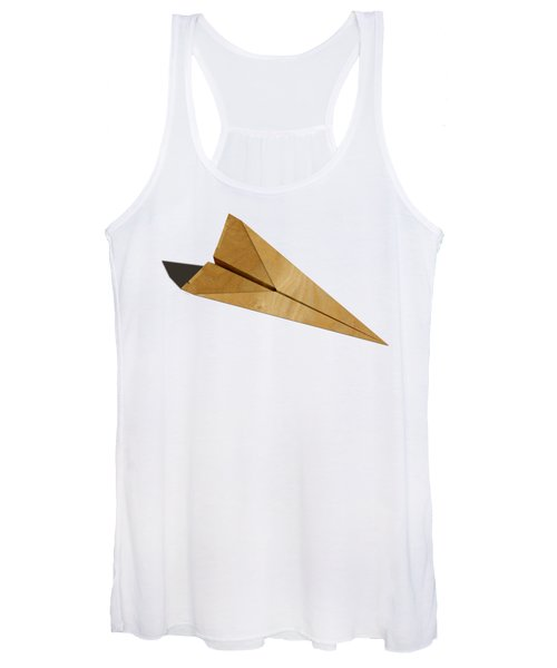 Paper Airplanes Of Wood 15 Women's Tank Top