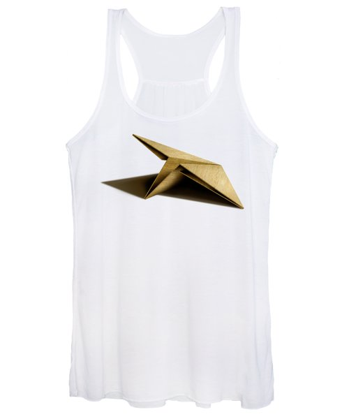 Paper Airplanes Of Wood 7 Women's Tank Top