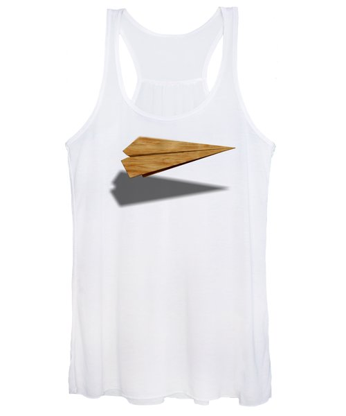 Paper Airplanes Of Wood 9 Women's Tank Top