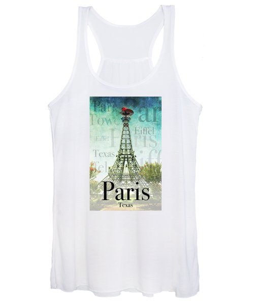 Paris Texas Style Women's Tank Top