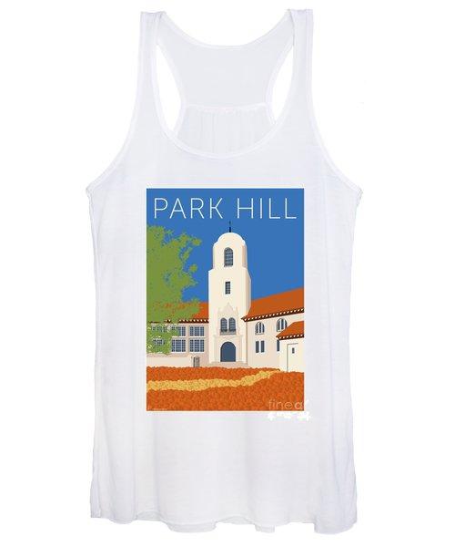 Park Hill Blue Women's Tank Top