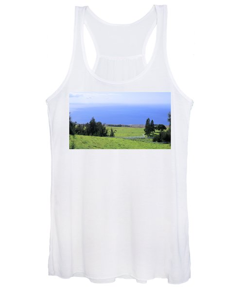 Pasture By The Ocean Women's Tank Top