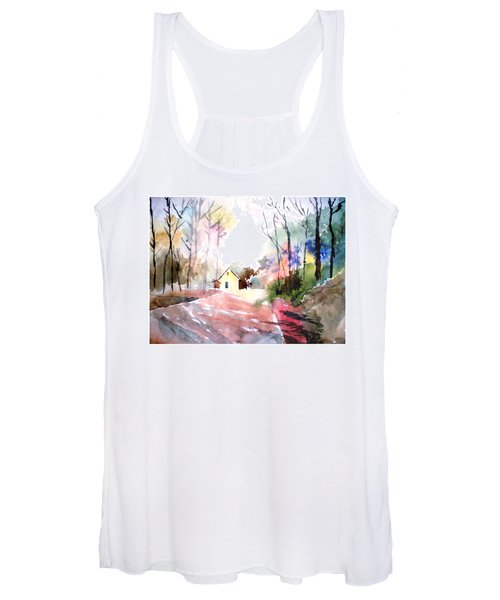Path In Colors Women's Tank Top