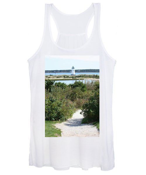 Path To Edgartown Lighthouse Women's Tank Top